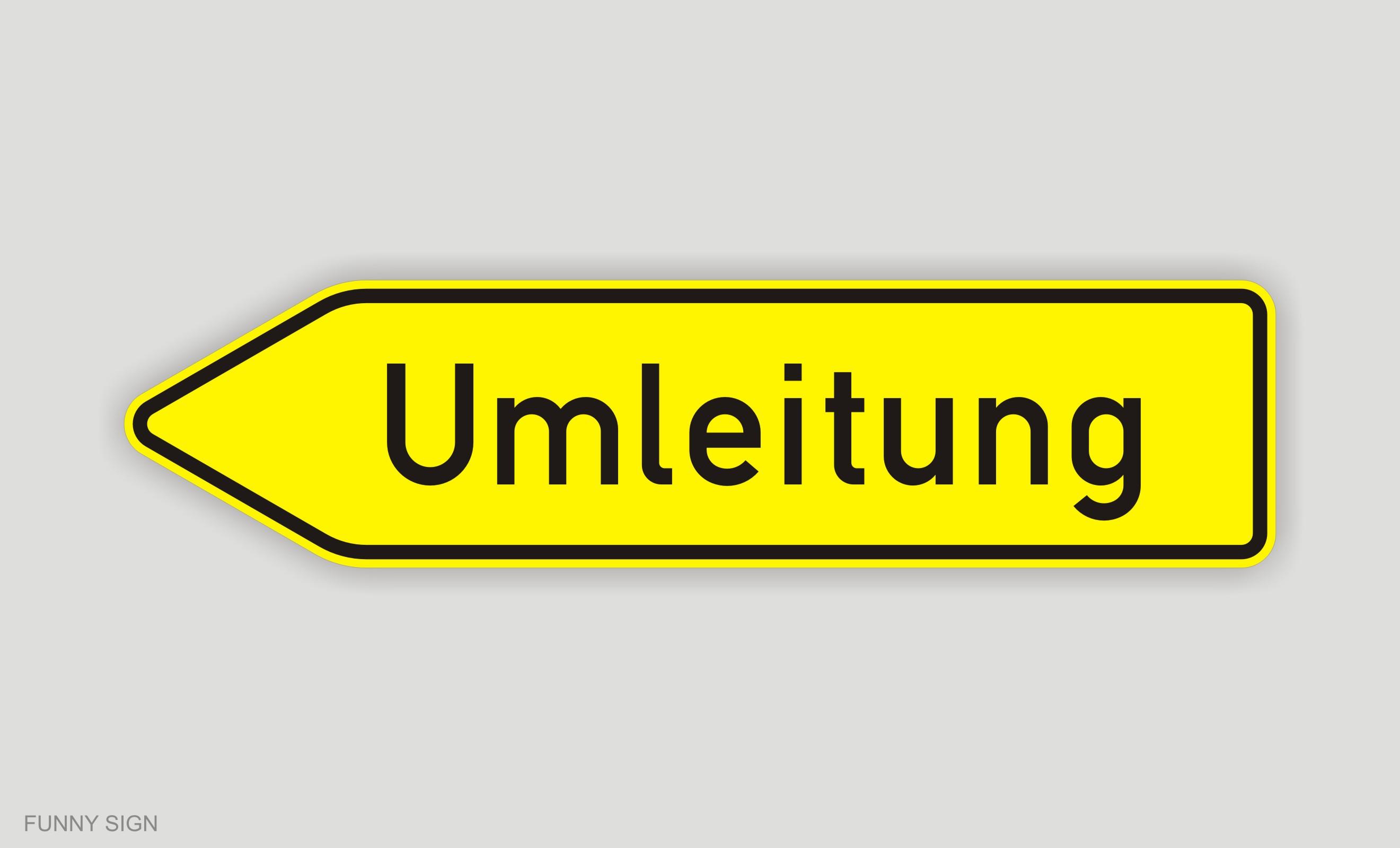 Schild Umleitung Umleitungsschild Nr 454 457