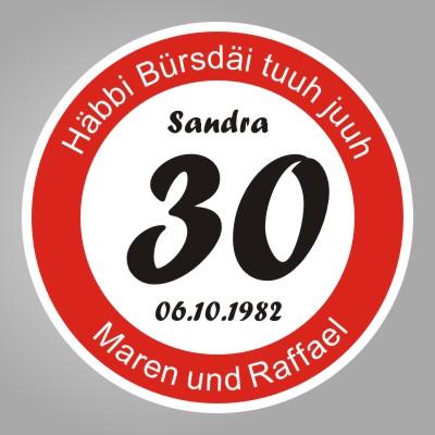 30 Dinge Zum 30 Geburtstag : funny sign geschenke geschenkideen geburtstag hochzeit ruhestand rente 30 50 18 25 ~ Sanjose-hotels-ca.com Haus und Dekorationen
